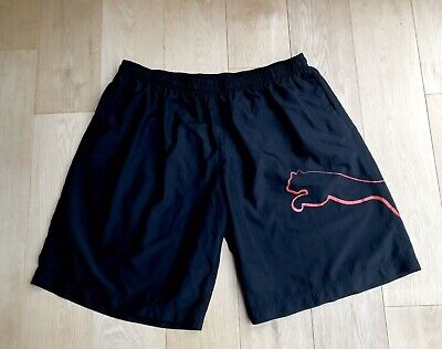 "MENS PUMA SHORTS *Sz XXL SPORTS Logo Waist 41 -44"" MANS UK Size XXL"