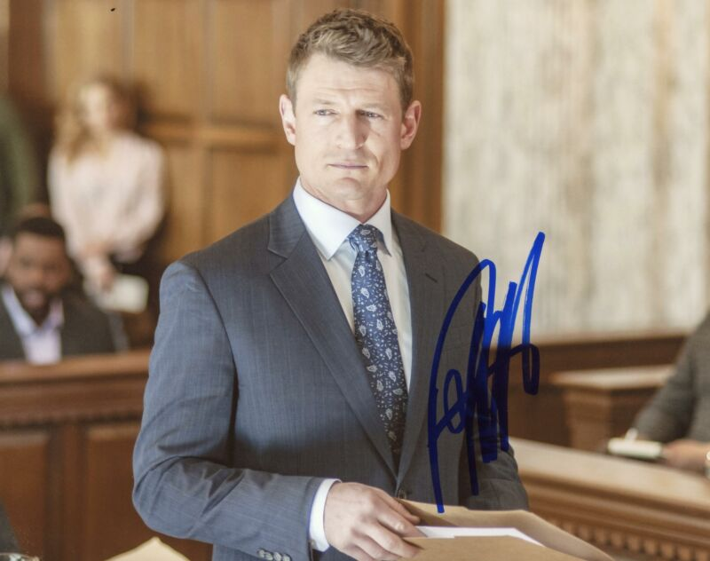 "Philip Winchester ""Chicago P.D."" AUTOGRAPH Signed 8x10 Photo ACOA"