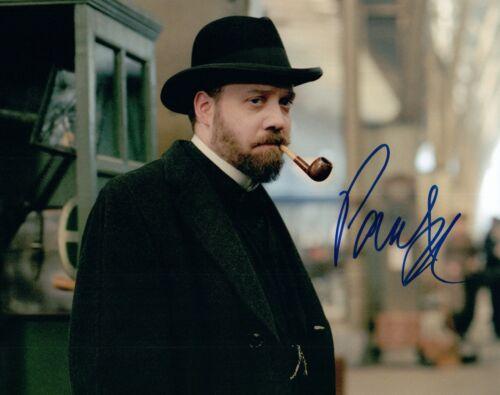 Paul Giamatti Signed Autographed 8x10 Photo The Illusionist Billions COA VD