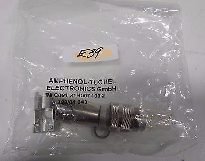 Amphenol Cable Connector C091 31h007 1002 Nib