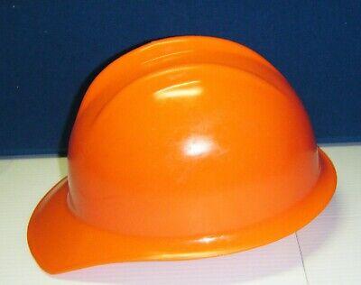 Vintage Rare Orange Bullard Hard Boiled Hat Suspension Model 303 Cap Model 30