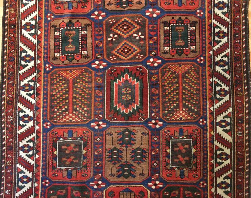 Terrific Tribal - 1920s Antique Oriental Rug - Nomadic Gallery - 5.1 X 9.9 Ft.