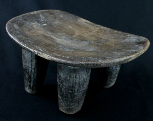 Art African - Stool Logboat Senoufo Antique & Unusual - Senufo Stool - 37 CMS