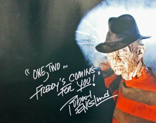 Robert Englund ( Nightmare On Elm St ) Autographed Signed 8x10 Photo Reprint