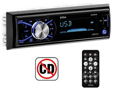 Boss 628UA Car In Dash USB/SD AUX Radio Digital Receiver Audio Stereo + Remote