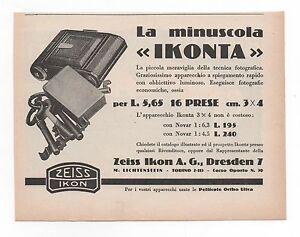 Pubblicita-epoca1930-IKOFLEX-IKONTA-ZEISS-PHOTO-reklame-advert-werbung-publicite