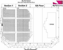 2X Dita Von Teese Strip Strip Hooray Sydney Luna Park Big Top tix Glenbrook Blue Mountains Preview