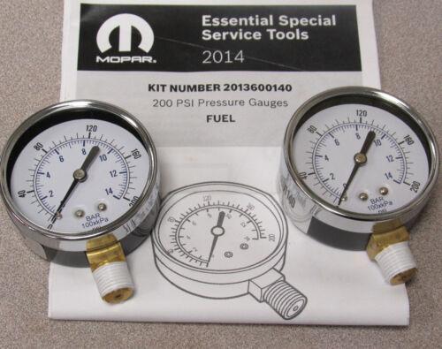Miller 2013600140 Fuel 200 PSI Gauge Set for Pressure Decay Volume Tester 8978