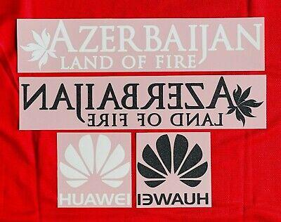 2015-16 Atlético de Madrid player issue Azerbaijan Huawei Sipesa patch jersey image