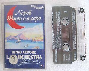 RENZO-ARBORE-L-039-ORCHESTRA-ITALIANA-Napoli-Punto-e-a-Capo-1992-MC-TAPE-TMC-336
