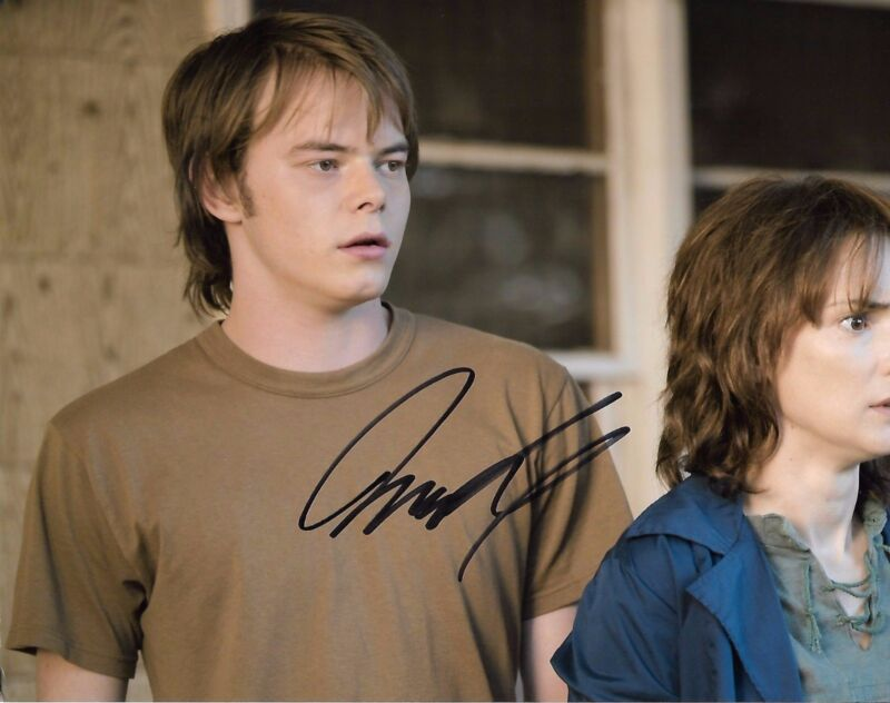 Charlie Heaton Stranger Things Autographed Signed 8x10 Photo COA #1