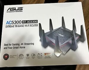 ASUS RT-AC5300 TRI BAND WIRELESS ROUTER - NEW