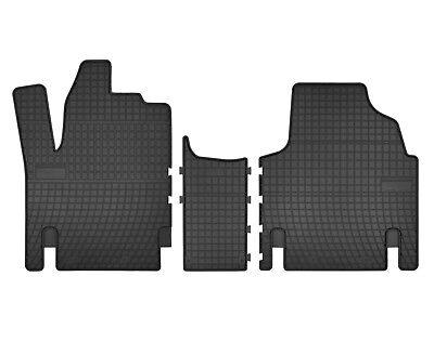 2007-2016 Gummifußmatten passend für Peugeot EXPERT 2-teilig schwarz