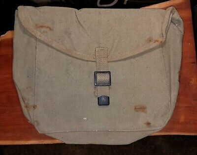 WWII Era US Army M1928 Haversack Meat Can or Mess Kit Pouch BRITISH MADE