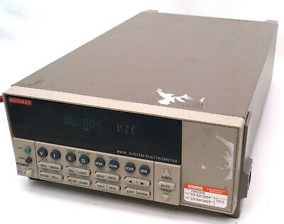 Keithley 6514 System Electrometer Laboratory Industrial Programmable