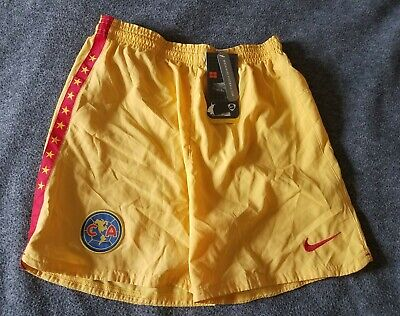 8f198ea36 Vintage Authentic Nike Club America Soccer Shorts 2006 Youth Large (14-16)