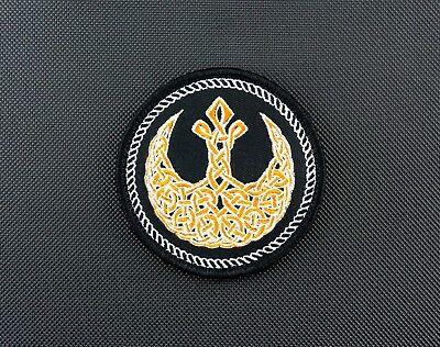 Rebel Alliance Celtic Morale Patch Star Wars Rogue One JYN ERSO Bhodi
