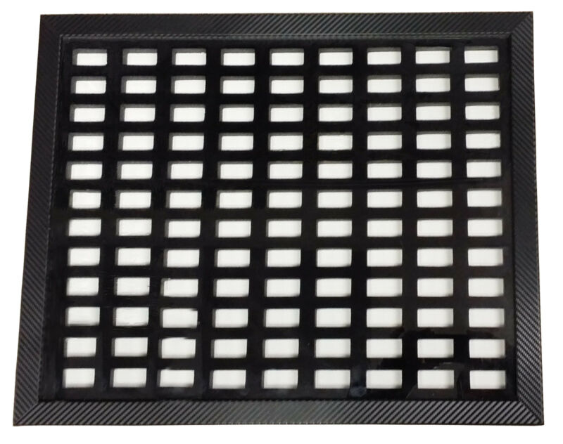 Casino Dice Insert 108 Pair Casino Dice Display Board Case with Frame Included *