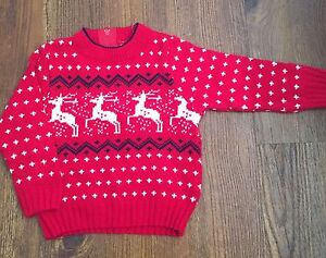 Christmas sweater 3-6 months