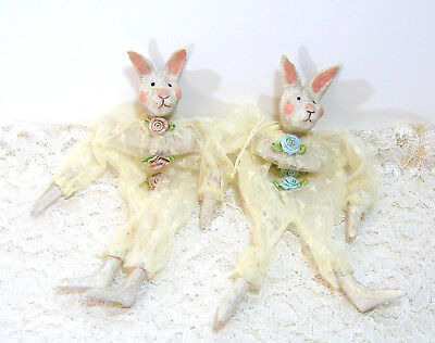 Bunny Ornaments Lace Gift Bags  - Bunny Ornaments
