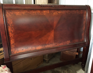 Queen Bed Frame with head and foot board