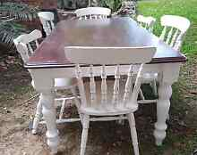 Dining Table Shabby Chic Nerang Gold Coast West Preview