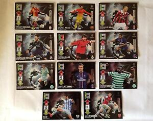 PANINI ADRENALYN XL CHAMPIONS LEAGUE 12/13 - 11 NEW UPDATE LIMITED EDITION