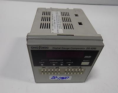 Ono Sokki Digital Gauge Comparator Dg-4240