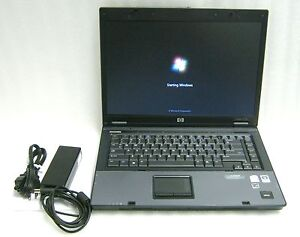 HP-Compaq-6710b-15-4-Notebook-1-8GHZ-Core-2-Duo-2GB-RAM-80GB-HDD-Windows-7