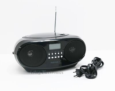 Insignia NS-B4111 CD Boombox With AM/FM Tuner Black