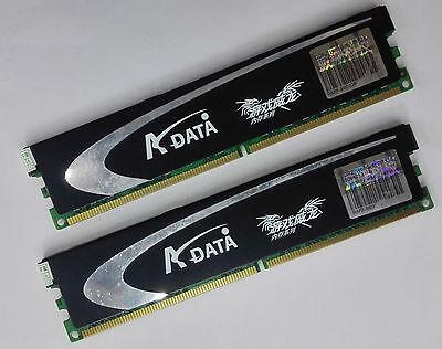 1066 Dual Channel - ADATA Gaming series  4GB Kit / 2 x 2GB DDR2 1066 Desktop RAM Dual-Channel 2R x 8