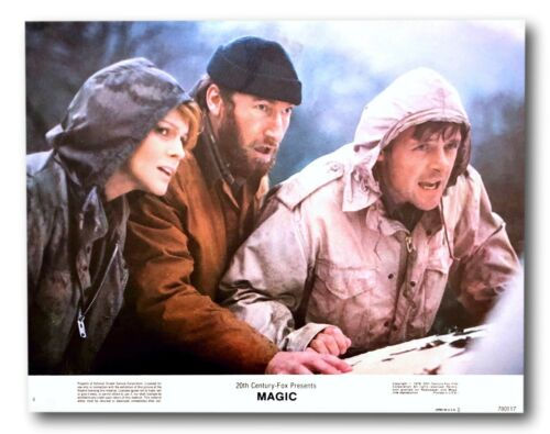 """ Magic "" Original 11x14 Authentic Lobby Card 1978 Poster #4 Hopkins Margret"