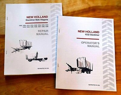 New Holland 1032 Stackliner Bale Wagon Operators And Servicerepair Manual