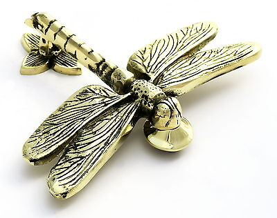 Solid Brass Dragonfly Door Knocker – antique & vintage style dragon fly knockers