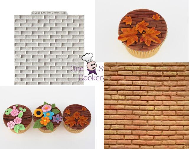 Katy Sue Designs Mat BRICKWORK Silicone Brick Mould  £8.89 FREE P&P