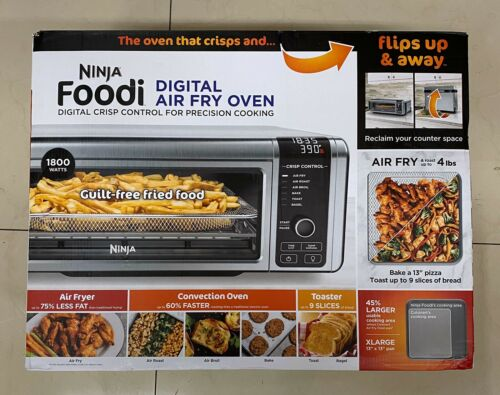 New Sealed Ninja Foodi SP100 Digital Air Fryer Oven & Toaste