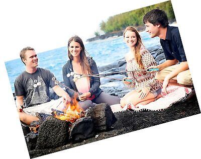 Marshmallow Roasting Sticks - Telescoping Smores Skewers And Hot Dog Forks - ... - $37.99