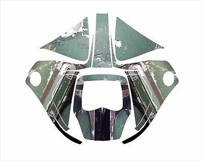 3m Speedglas 9100 V X Xx Auto Sw Jig Welding Helmet Wrap Decal Boba Fett