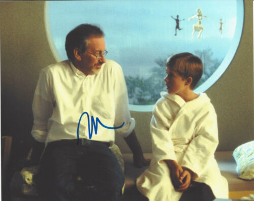 HALEY JOEL OSMENT SIGNED AUTHENTIC 'A.I. ARTIFICIAL INTELLIGENCE' 8X10 PHOTO COA