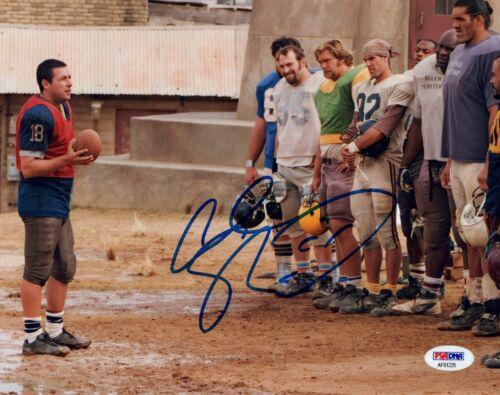 Adam Sandler Signed Autograph 8x10 Photo THE LONGEST YARD PSA/DNA COA