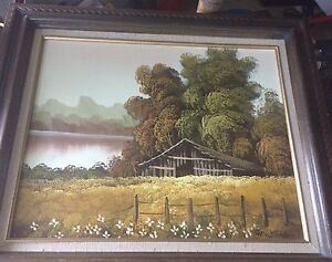 3 oil paintings professionally done & framed!