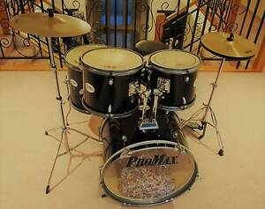PROMAX DRUM KIT COMPLETE 5 PIECE Kurrajong Hawkesbury Area Preview