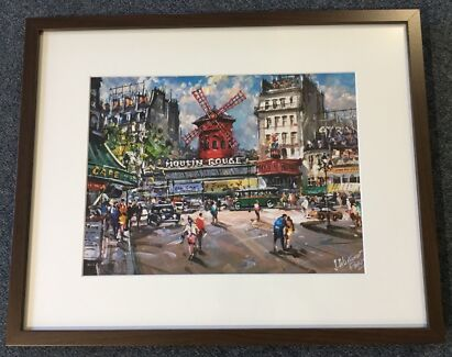 Moulin Rouge Print Purchased in Paris, Pick-up Tingalpa 4173