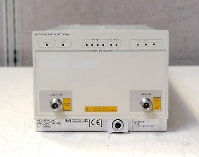Hp Agilent Keysight 70842b Standard 0.1-3gbits Error Detector Module Plug-in