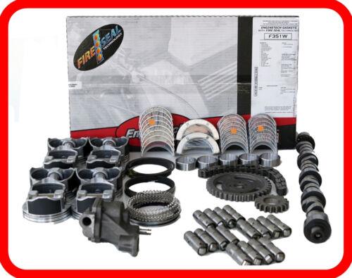 Hp Overhaul Rebuild Kit For Chevrolet Gmc 6.0l V8 Vortec Ls Gen-iv (550/550 Cam)