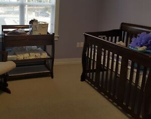 Crib and change table $150 obo