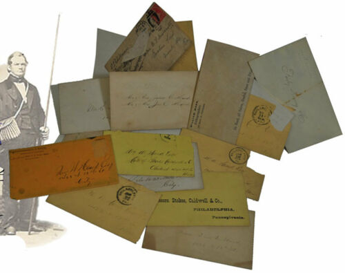 c. 1860s / 1870s Fly Tying / Fishing Postal Covers