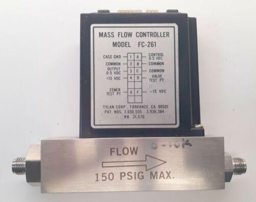 Tylan FC-261 Mass Flow Controller Gas Air 10 slpm