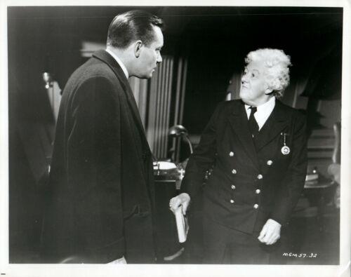 (5) MURDER AHOY - B&W 8x10 Movie Still Photos  Margaret Rutherford