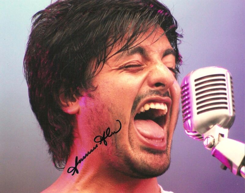 SAMEER GADHIA SIGNED 8X10 PHOTO PROOF COA AUTOGRAPHED YOUNG THE GIANT